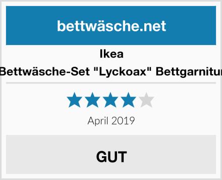 "Ikea Bettwäsche-Set ""Lyckoax"" Bettgarnitur Test"