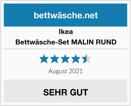 Ikea Bettwäsche-Set MALIN RUND Test