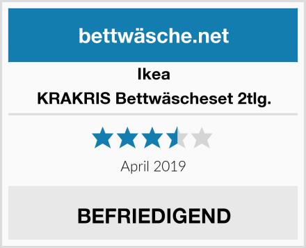 Ikea KRAKRIS Bettwäscheset 2tlg. Test