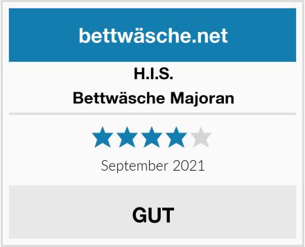H.I.S. Bettwäsche Majoran Test