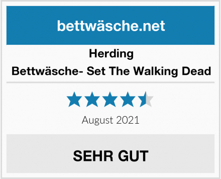 Herding Bettwäsche- Set The Walking Dead Test