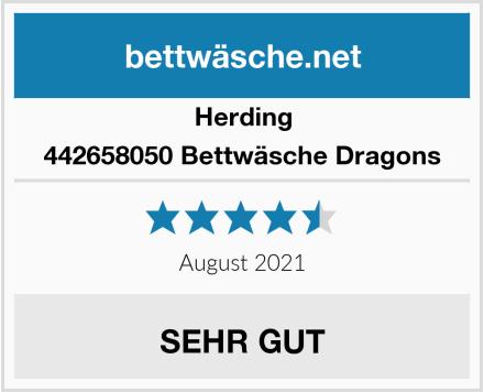Herding 442658050 Bettwäsche Dragons Test
