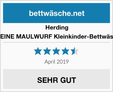 Herding DER KLEINE MAULWURF Kleinkinder-Bettwäsche-Set Test