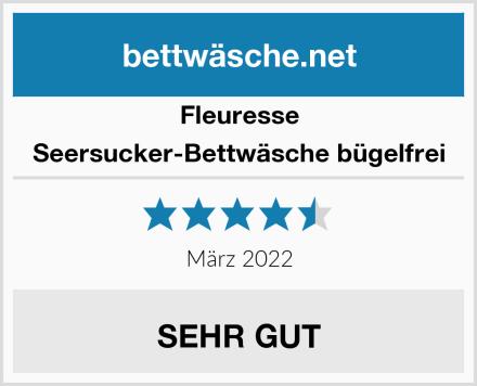 Fleuresse Seersucker-Bettwäsche bügelfrei Test