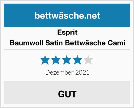 Esprit Baumwoll Satin Bettwäsche Cami Test