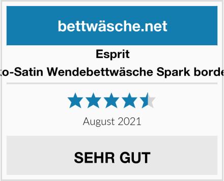 Esprit Mako-Satin Wendebettwäsche Spark bordeaux Test