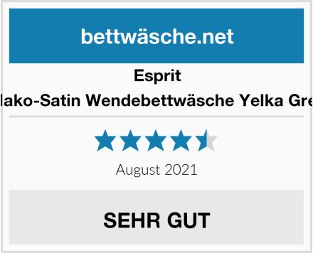 Esprit Mako-Satin Wendebettwäsche Yelka Grey Test
