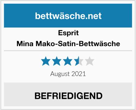 Esprit Mina Mako-Satin-Bettwäsche Test