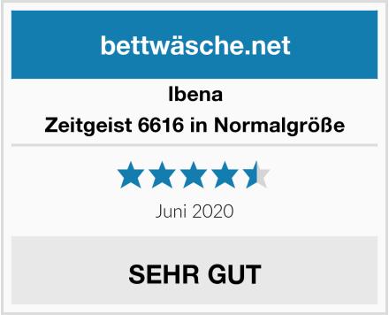 Ibena Zeitgeist 6616 in Normalgröße Test
