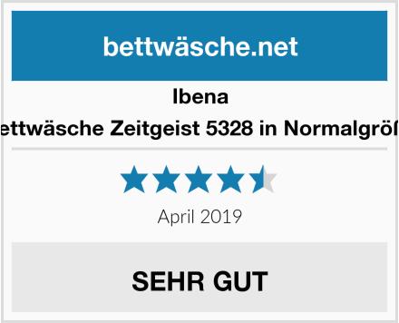 Ibena Bettwäsche Zeitgeist 5328 in Normalgröße Test