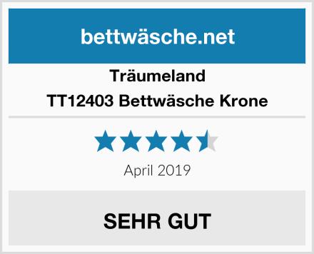 Träumeland TT12403 Bettwäsche Krone Test