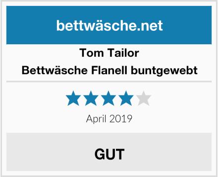 Tom Tailor Bettwäsche Flanell buntgewebt Test