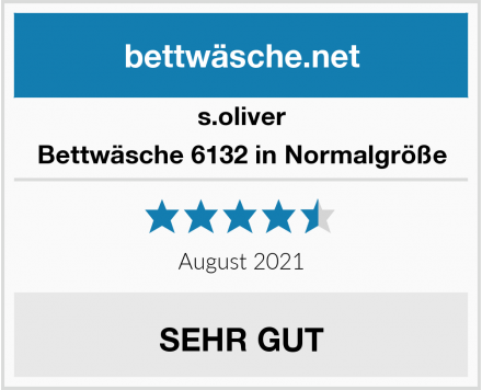 s.oliver Bettwäsche 6132 in Normalgröße Test