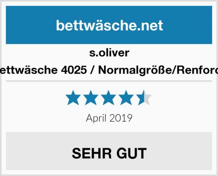 s.oliver Bettwäsche 4025 / Normalgröße/Renforce Test