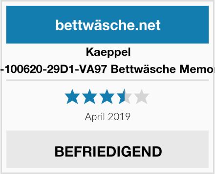 Kaeppel G-100620-29D1-VA97 Bettwäsche Memory Test