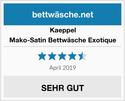 Kaeppel Mako-Satin Bettwäsche Exotique Test
