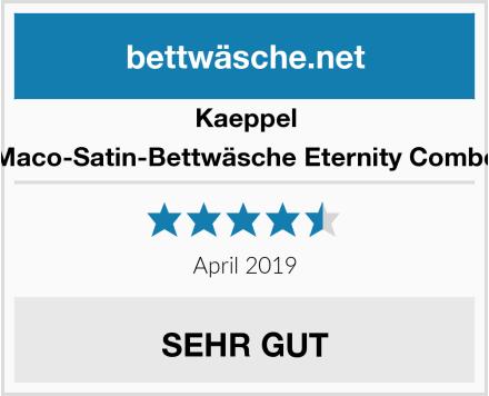 Kaeppel Maco-Satin-Bettwäsche Eternity Combo Test