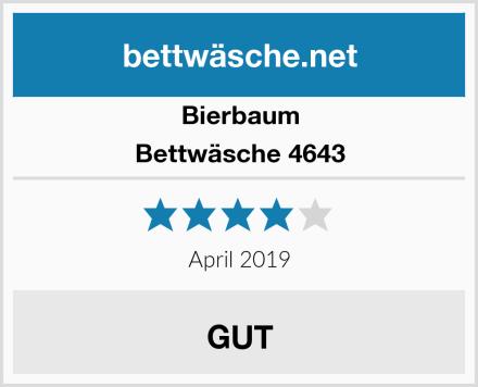 Bierbaum Bettwäsche 4643 Test