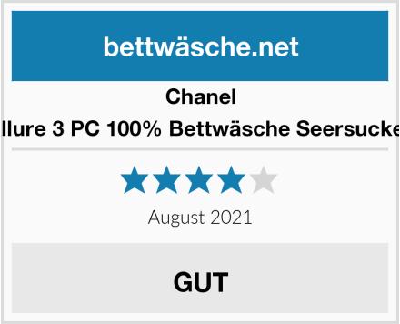 Chanel Allure 3 PC 100% Bettwäsche Seersucker Test