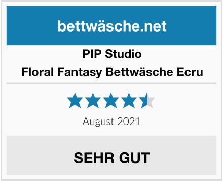 PIP Studio Floral Fantasy Bettwäsche Ecru Test