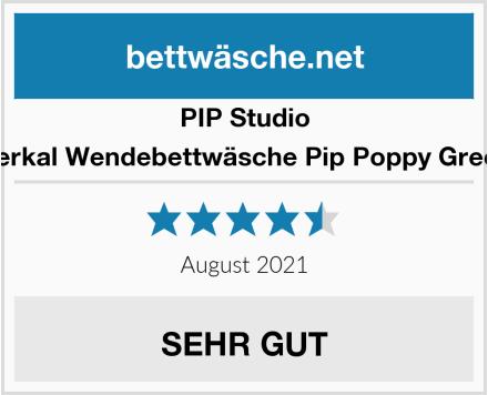 PIP Studio Perkal Wendebettwäsche Pip Poppy Green Test