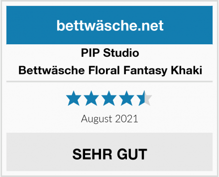 PIP Studio Bettwäsche Floral Fantasy Khaki Test