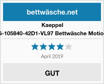 Kaeppel G-105840-42D1-VL97 Bettwäsche Motion Test