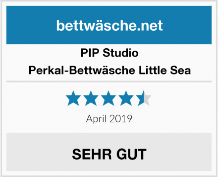 PIP Studio Perkal-Bettwäsche Little Sea Test