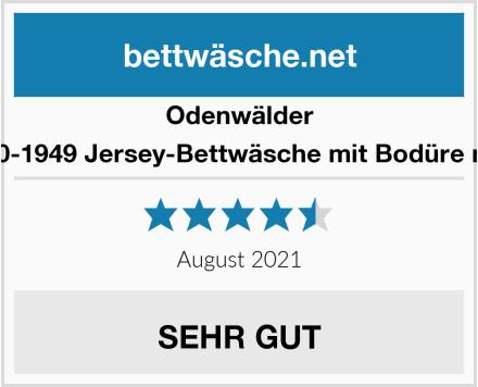 Odenwälder 2050-1949 Jersey-Bettwäsche mit Bodüre mint Test
