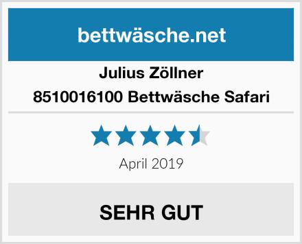 Julius Zöllner 8510016100 Bettwäsche Safari Test