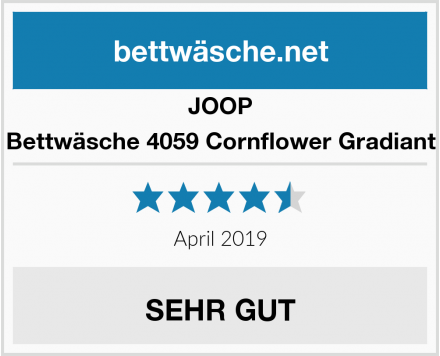 JOOP Bettwäsche 4059 Cornflower Gradiant Test