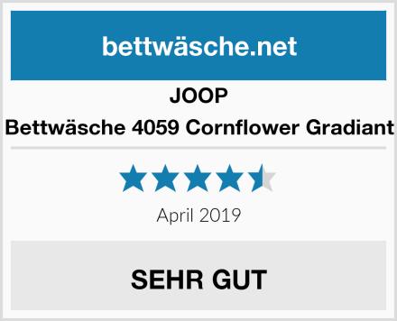 JOOP Bettwäsche 4059 Cornflower Gradiant Test