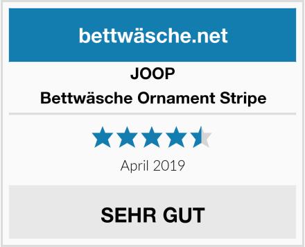 JOOP Bettwäsche Ornament Stripe Test