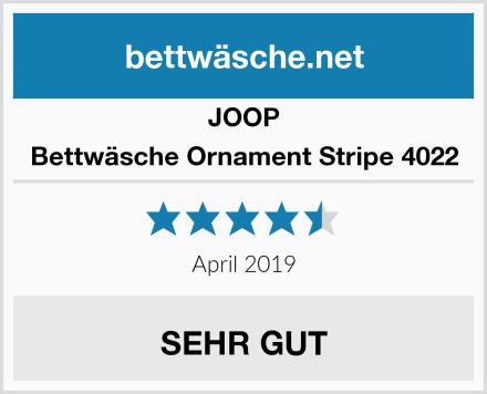JOOP Bettwäsche Ornament Stripe 4022 Test