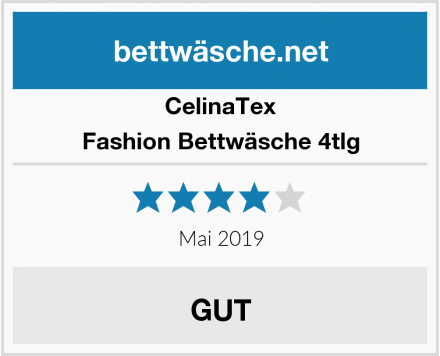 CelinaTex Fashion Bettwäsche 4tlg Test