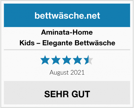 Aminata-Home Kids – Elegante Bettwäsche Test