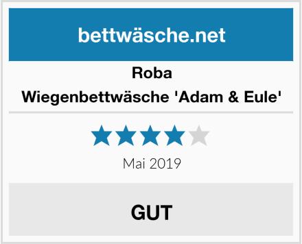 Roba Wiegenbettwäsche 'Adam & Eule' Test