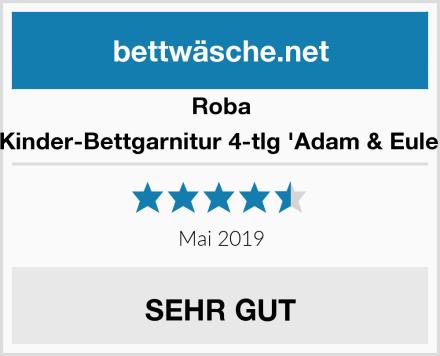 Roba Kinder-Bettgarnitur 4-tlg 'Adam & Eule' Test