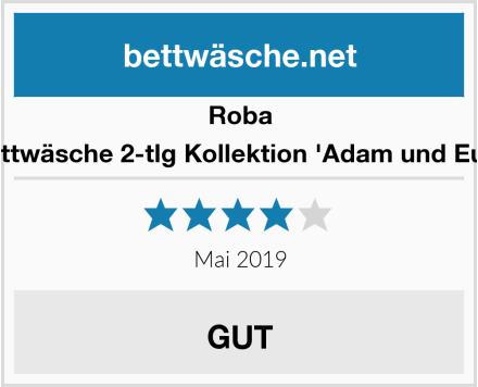 Roba Bettwäsche 2-tlg Kollektion 'Adam und Eule' Test