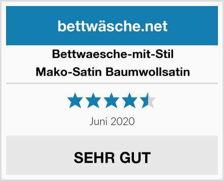 Bettwaesche-mit-Stil Mako-Satin Baumwollsatin Test