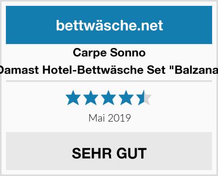 """Carpe Sonno Damast Hotel-Bettwäsche Set """"Balzana"""" Test"""