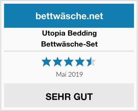 Utopia Bedding Bettwäsche-Set Test