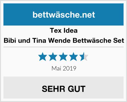 Tex Idea Bibi und Tina Wende Bettwäsche Set Test