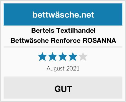 Bertels Textilhandel Bettwäsche Renforce ROSANNA Test