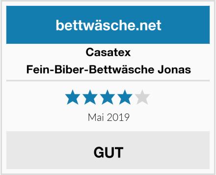 Casatex Fein-Biber-Bettwäsche Jonas Test