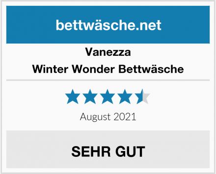 Vanezza Winter Wonder Bettwäsche Test