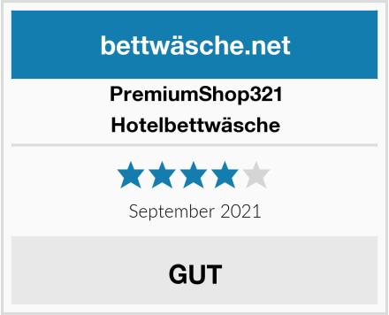 PremiumShop321 Hotelbettwäsche Test