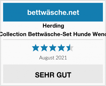 Herding Young Collection Bettwäsche-Set Hunde Wendemotiv Test