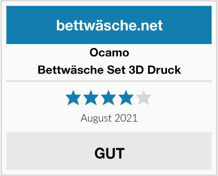 Ocamo Bettwäsche Set 3D Druck Test