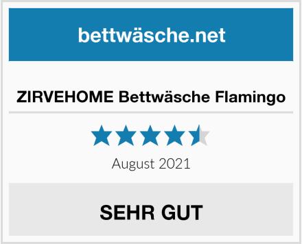 No Name ZIRVEHOME Bettwäsche Flamingo Test